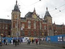 Gara centrala din Amsterdam