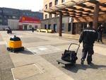 Robotul care aduce produsele din supermarket