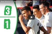Real Madrid, victorie cu Juventus