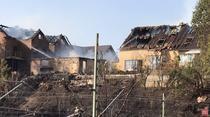 Case cuprinse de incendiu in Germania