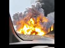 Explozie puternica pe o autostrada din Bologna