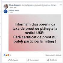 Postarea distribuit de Maria Grapini