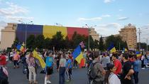 Protest Piata Victoriei (foto arhiva)