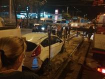 Trafic blocat pe linia de tramvaie 32