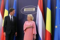Mark Rutte si Viorica Dancila