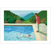 David Hockney, portrait of artist