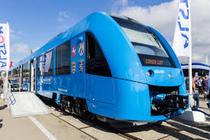 Tren cu motor pe baza de hidrogen