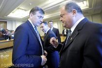 Crin Antonescu si Vasile Blaga