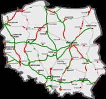 Autostrazi in Polonia