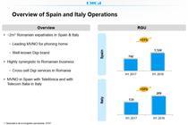 Operatiunile Digi in Spania si Italia