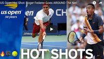 Federer, Kyrgios si mingea zilei la New York