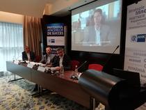 Imagine din conferinta de lansare a Raportului