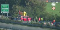 Microbuz cu romani, implicat intr-un accident in Slovacia