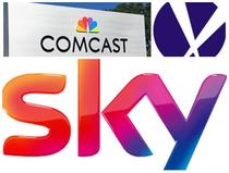Comcast, Fox si Sky