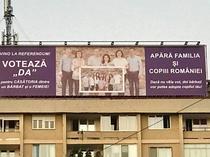 Mesaj pro referendum la Timisoara