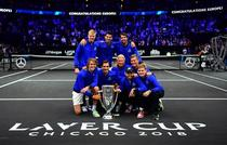 Echipa Europei s-a impus la Laver Cup