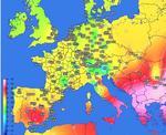 Temperaturile maxime in Europa pe 10 august 1951, ziua recordului absolut pentru Romania