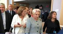 Dancila nu vrea sa raspunda intrebarilor Euronews