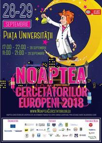 Noaptea Cercetatorilor Europeni - 2018
