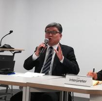 Shin Hyung-sik, presedintele Fundatiei Coreene pentru Democratie
