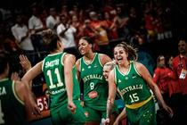 Nationala de baschet feminin a Australiei
