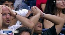 John Millman vs Roger Federer si reactia fanilor elvetianului