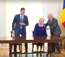 Viorica Dancila in Spania