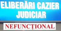 Probleme la sistemul de cazie judiciar