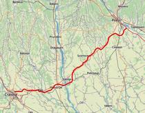Drum Expres Craiova Pitesti DX12