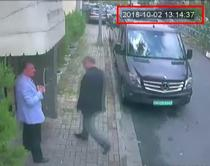 Jamal Khashoggi intrand in consulat