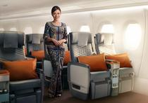 Intr-un avion al Singapore Airlines