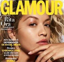 Revista Glamour - coperta partiala