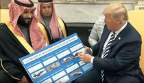Mohammed Bin Salman si Donald Trump