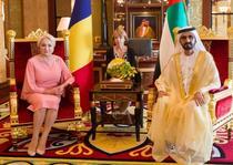 Viorica Dancila si Mohammed bin Rashid Al Maktoum