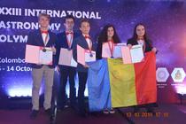 Elevi romani medaliati la Olimpiada de Astronomie