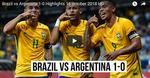 Brazilia vs Argentina