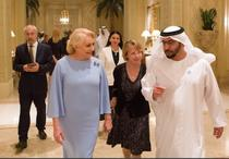 Viorica Dancila si Hamdan Bin Zayed Al Nahyan