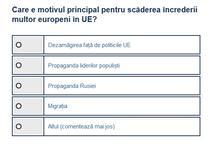 Sondaj incredere UE