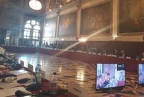Dezbateri la Comisia de la Venetia