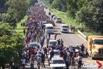Caravana cu migranti