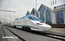 Tren de viteza in Uzbekistan