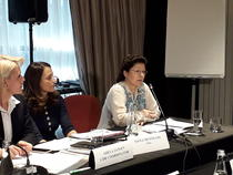 Mariuca Talpes, la conferinta de marti