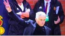 Jose Mourinho si gestul facut spre suporterii lui Juventus
