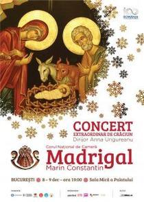 Corul Madrigal - Turneu de Craciun