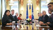 Delegatia PSD si Klaus Iohannis la Cotroceni