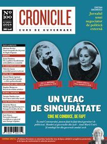 Cronicile - coperta nr. 100
