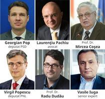 Virgil Popescu, Radu Dudau, Vasile Iuga, Georgian Pop, Laurentiu Pachiu, Mircea Cosa