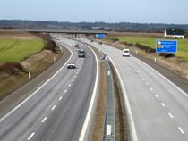 Autostrada in Danemarca