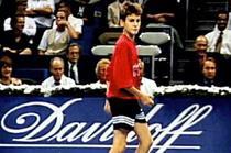Roger Federer, copil de mingi