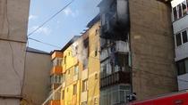 Incendiu in Piatra Neamt